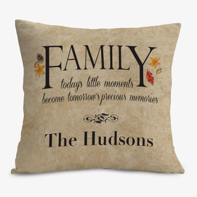 Customized Family Cushion Cover