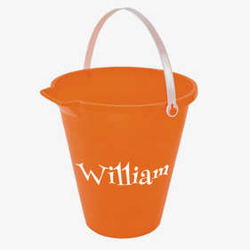 Customized Kids Name Sand Pail