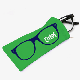 Customized Outline Eyeglasses Bag
