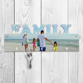 Customized Photo Family Key Hanger