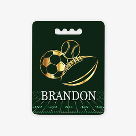 Customized Sports Balls Rectangular Stadium Cushion