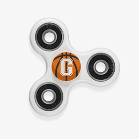Customized Sports Initial Fidget Spinner