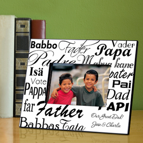 Personalized Dad in Translation Frame