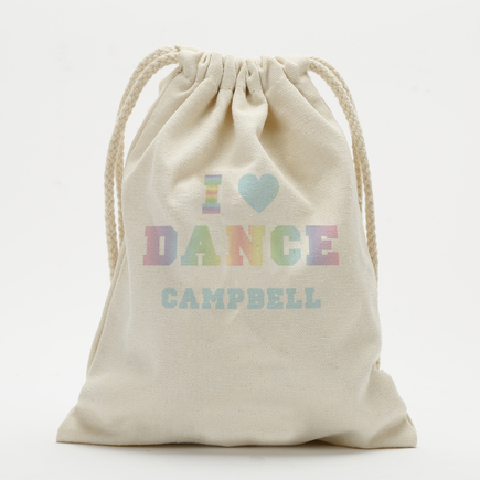 Dance Personalized Drawstring Sack