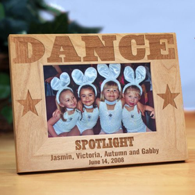 Dance Wood Picture Frame