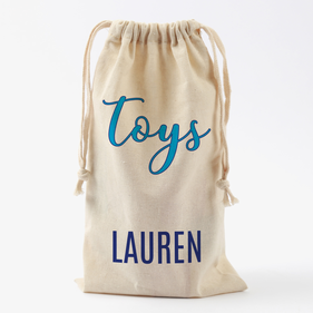 Doll Clothes Personalized Drawstring Toy Bag