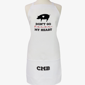 Don't Go Bacon My Heart Custom Adult Apron