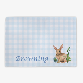 Easter Bunny Personalized Placemat