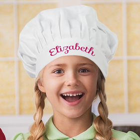 Elizabeth Personalized Chef In Training Hat