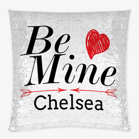 Exclusive Sale - Be Mine Custom Sequin Decorative Cushion Cover