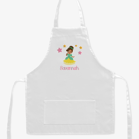 Exclusive Sale - Personalized Kids Princess Character Apron