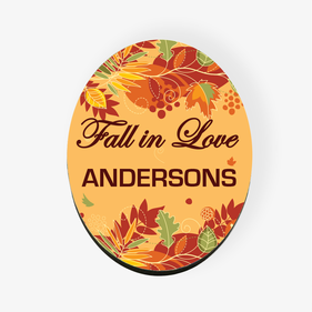 Fall In Love Custom Refrigerator Magnet
