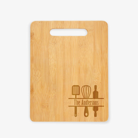 Family Custom Wooden Cutting Board