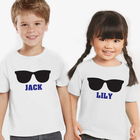 Family Vacation Personalized Kids T-Shirt