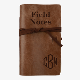 Field Notes Personalized Leather-Bound Mini Journal