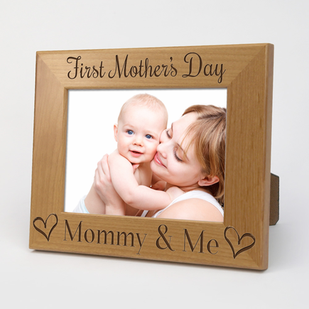 First Mother's Day Custom Wood Picture Frame