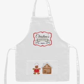 Freshly Baked Treats Custom Kids Apron