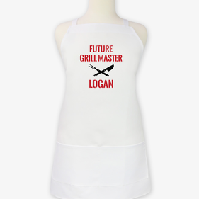 Future Grill Master Personalized Kids Apron