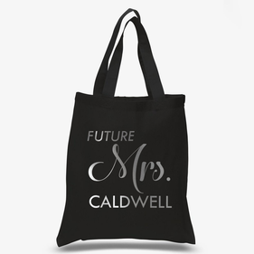 Future Mrs. Personalized Cotton Tote Bag