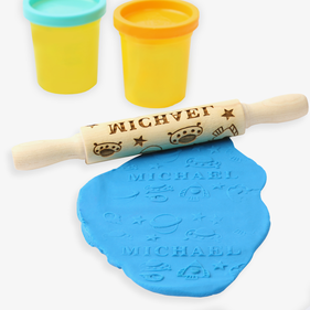 Galaxy Personalized Mini Wooden Rolling Pin