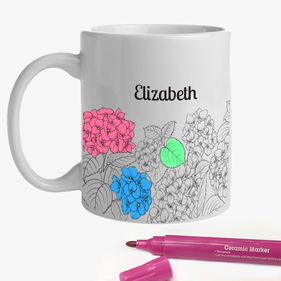 Garden Add Color Custom Ceramic Mug