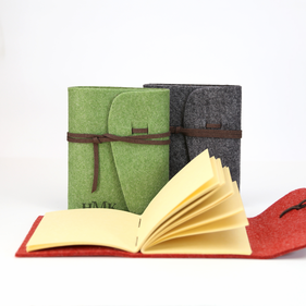 Felt-Bound Journal