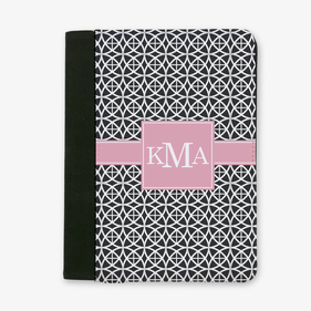 Geo Trellis Design Monogrammed File Folder