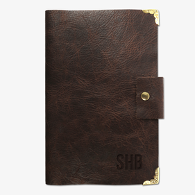 Exclusive Sale - Go The Extra Mile Custom Decorative Leather Journal