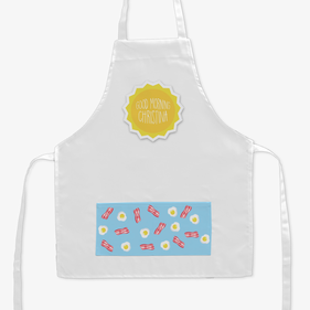 Good Morning Sunshine Personalized Kids Apron