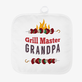 Grill Master Personalized Pot Holder