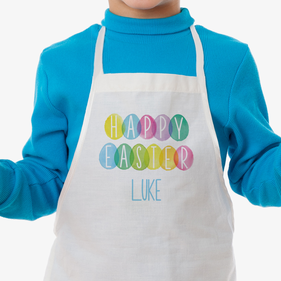 Happy Easter Personalized Kids Apron