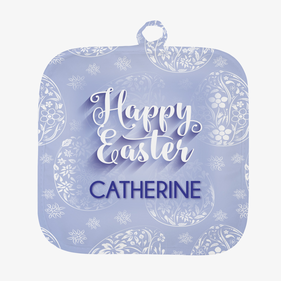 Happy Easter Personalized Pot Holder