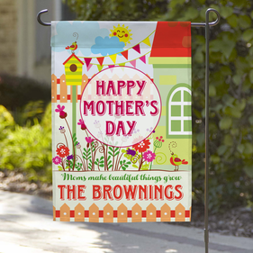 Happy Mother's Days Custom Garden Flag