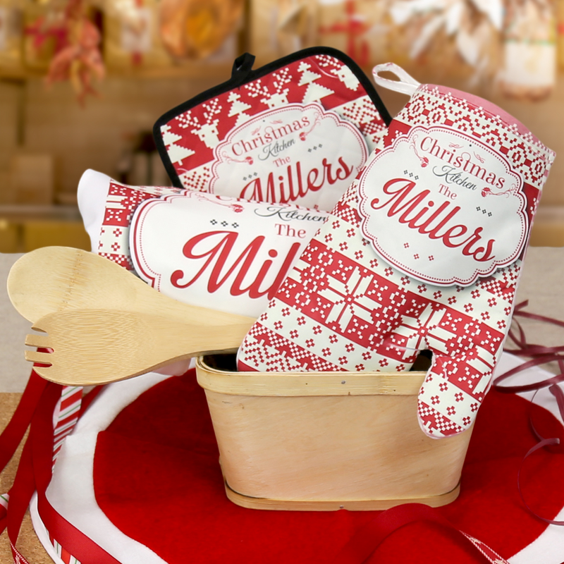 Home Is Where The Heart Is Personalized Family Kitchen Gift Basket Monogram Online