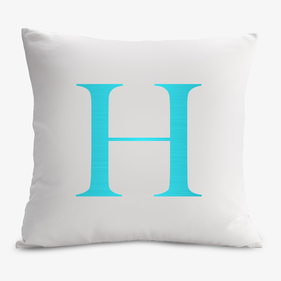 Initial Customized Decorative Cushion Cover