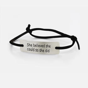 Inspirational Bracelets with Special Quote