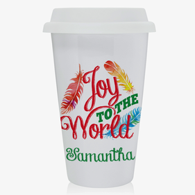 Joy To The World Eco Tumbler Mug