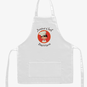 Junior Chef Personalized Kids Apron