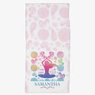Keep Calm And Do Yoga Personalized Fitness Towel