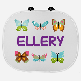 Kid's Personalized Sunshade Guard with 2 Suction Cups