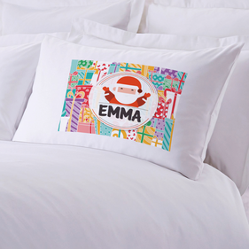 Personalized Kid's Christmas Pillow Case