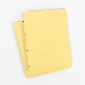 Leather-Bound Journal Paper Refills