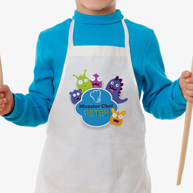 Little Monster Chef Personalized Kids Apron