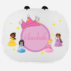 Little Princesses Custom Name Sunshade
