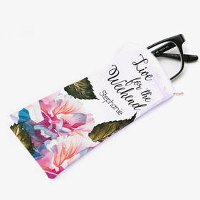 Live For The Weekend Personalized Eyeglasses Bag