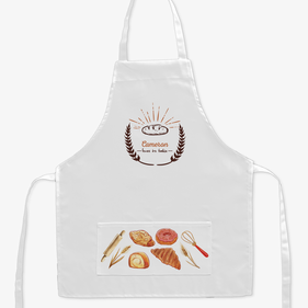 Loves to Bake Custom Kids Apron