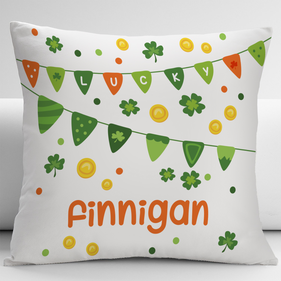 Lucky Personalized Decorative Cushion Cover