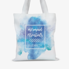 Mermaid Essentials Personalized Tote Bag