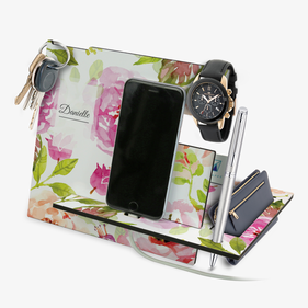 Exclusive Sale - Midnight Garden Personalized Desk Organizer