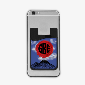 Monogram Mountains Card Caddy Phone Wallet